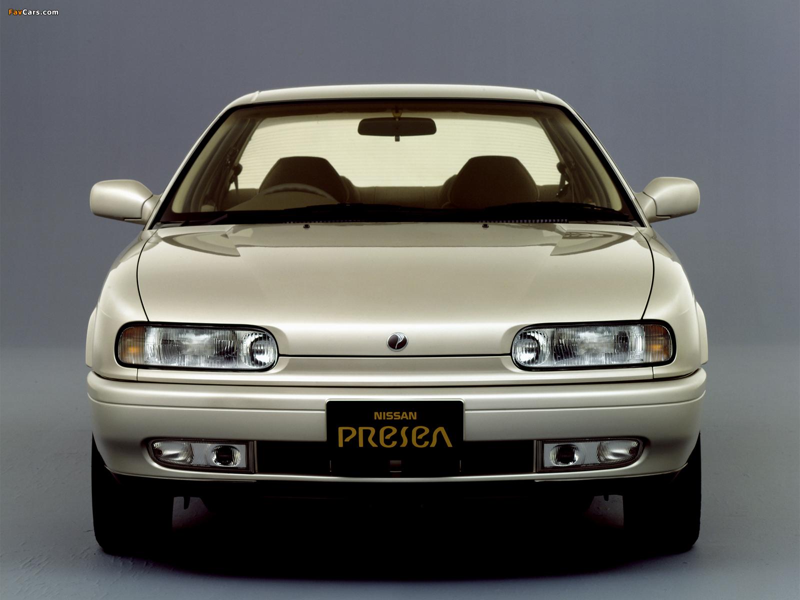 Nissan Presea (R10) 1990–95 images (1600 x 1200)