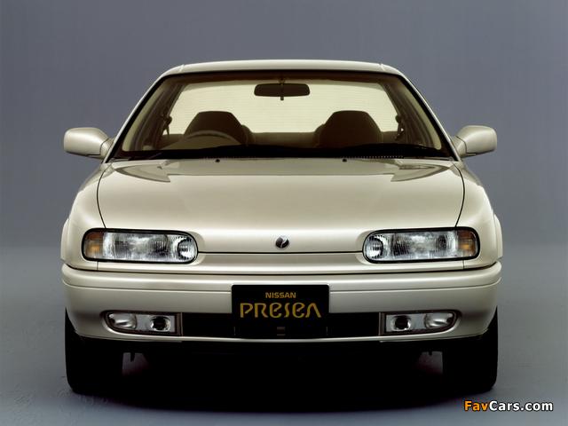 Nissan Presea (R10) 1990–95 images (640 x 480)