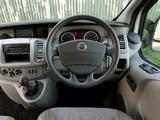 Nissan Primastar UK-spec 2006 photos