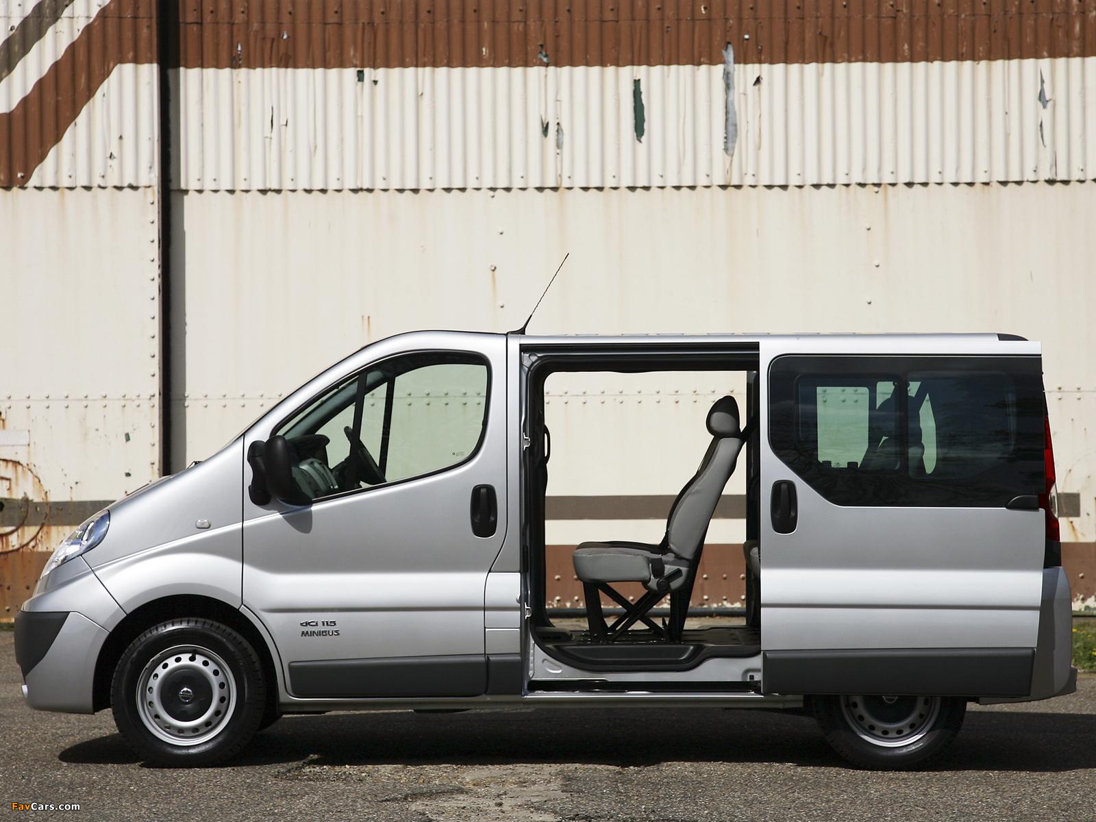 Pictures of Nissan Primastar UK-spec 2006 (1600 x 1200)