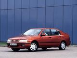 Images of Nissan Primera Hatchback (P11) 1995–99