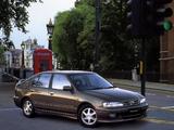Images of Nissan Primera Hatchback JP-spec (P11) 1997–98