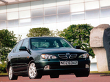 Images of Nissan Primera Sedan UK-spec (P11f) 1999–2002