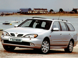 Nissan Primera Traveller UK-spec (W11) 1999–2002 images