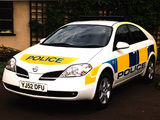 Nissan Primera Police (P12) 2002–08 wallpapers