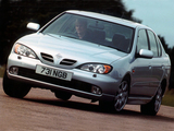 Photos of Nissan Primera Sedan UK-spec (P11f) 1999–2002