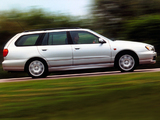 Photos of Nissan Primera Traveller UK-spec (W11) 1999–2002