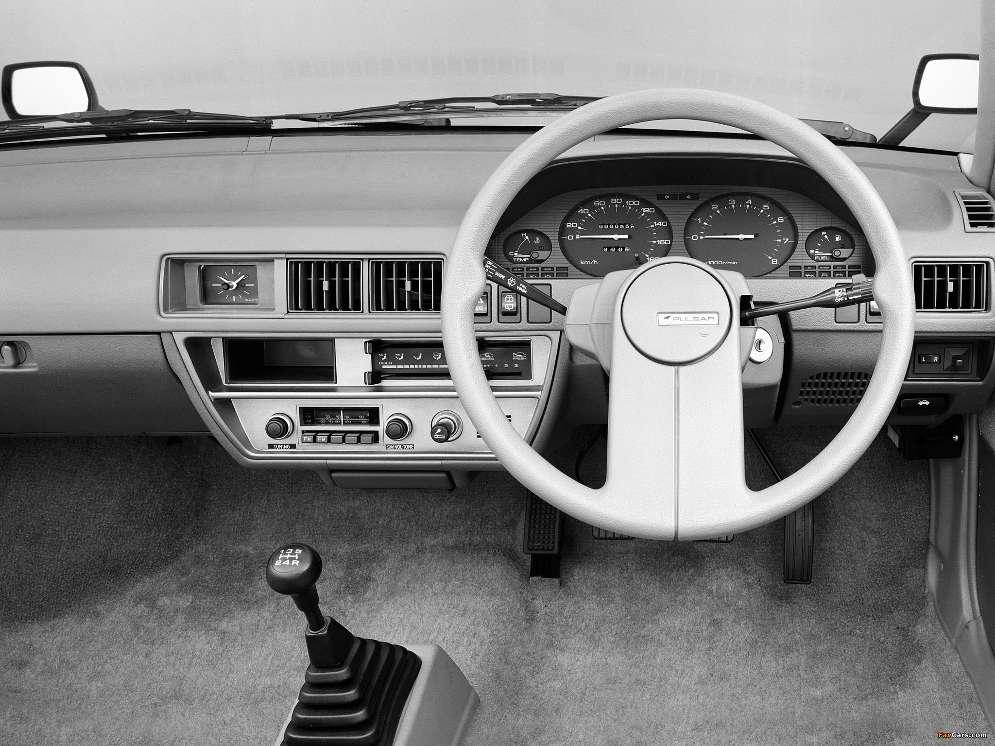 Images of Nissan Pulsar 5-door (N12) 1982–86 (2048 x 1536)