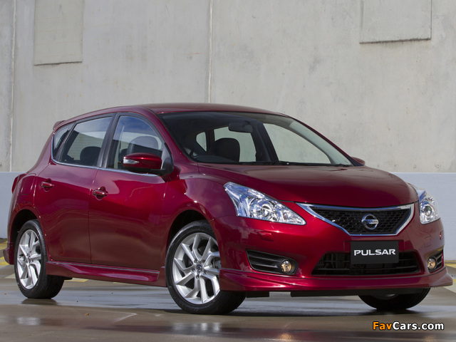 Images of Nissan Pulsar SSS (NB17) 2013 (640 x 480)