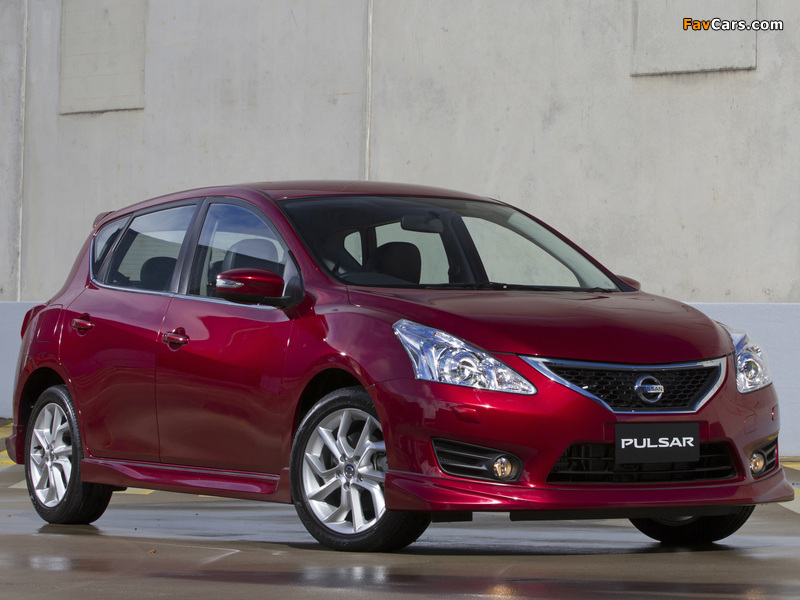 Images of Nissan Pulsar SSS (NB17) 2013 (800 x 600)