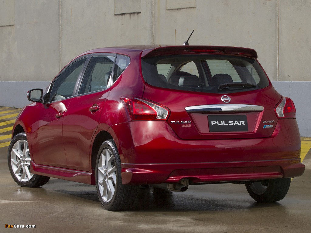 Images of Nissan Pulsar SSS (NB17) 2013 (1024 x 768)