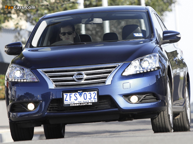 Images of Nissan Pulsar (NB17) 2013 (640 x 480)