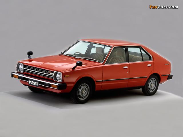 Nissan Pulsar 4-door (N10) 1978–80 images (640 x 480)