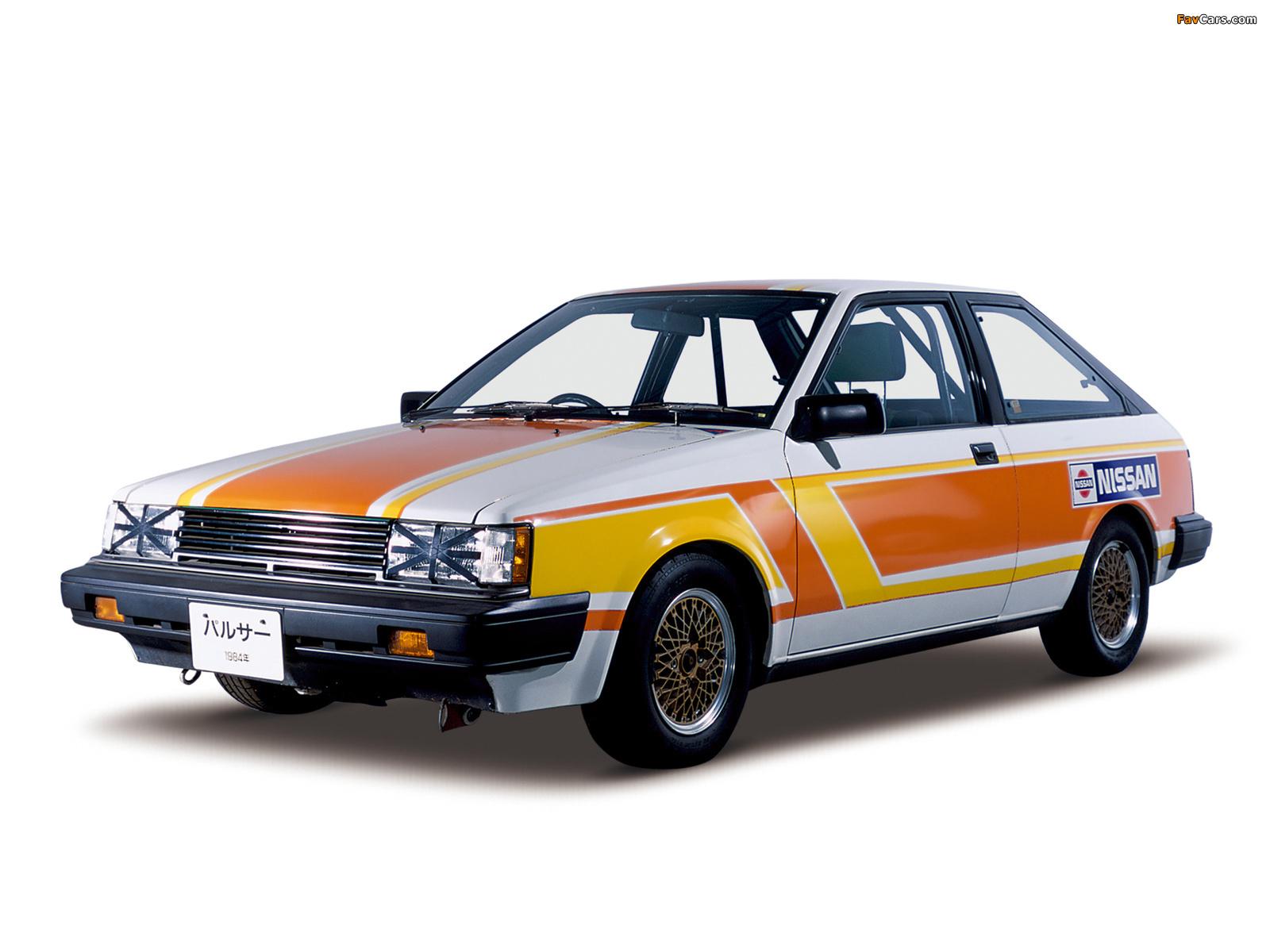 Nissan Pulsar 3-door Race Car (N12) 1982–86 images (1600 x 1200)
