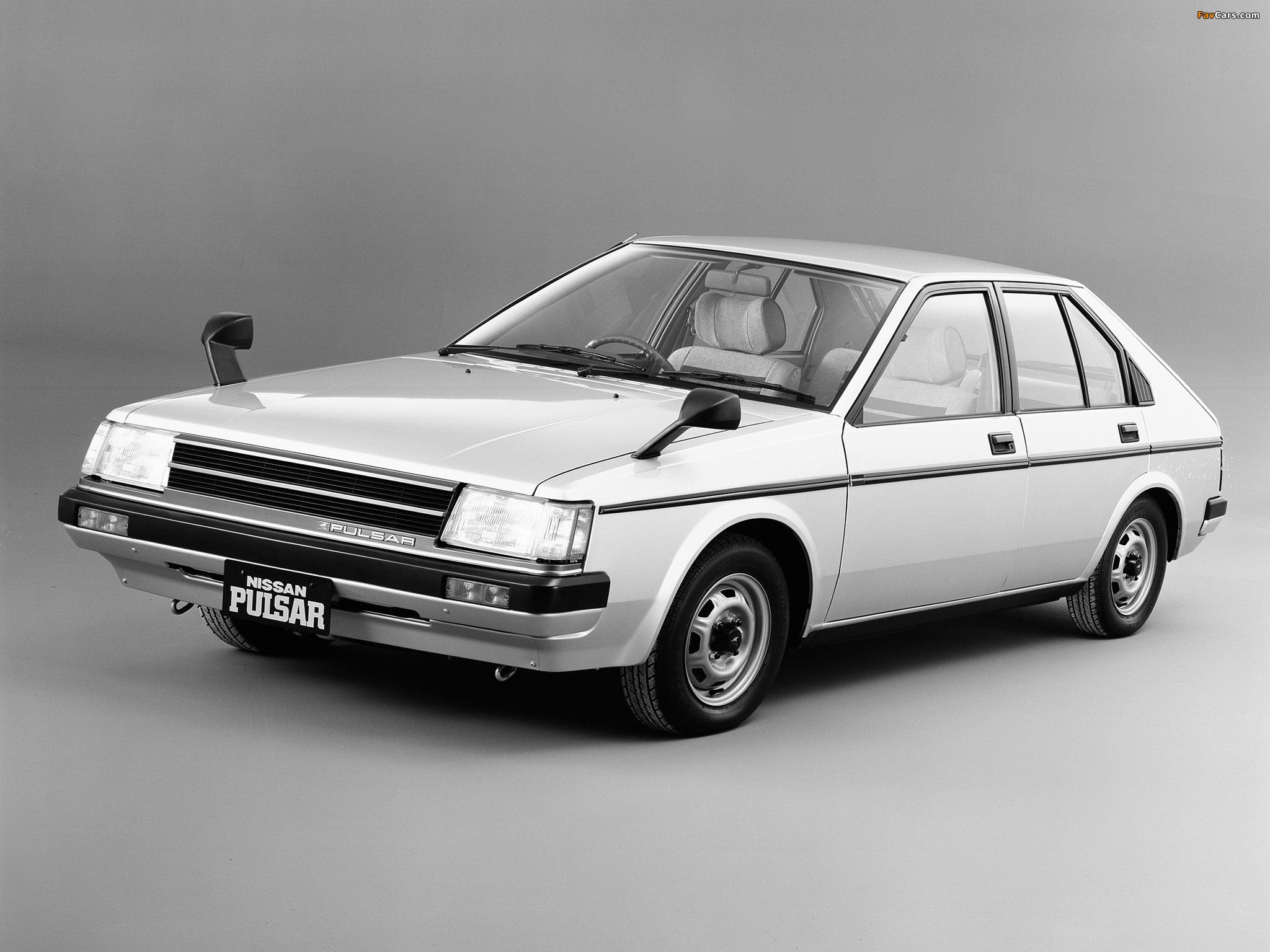 Nissan Pulsar 5-door (N12) 1982–86 wallpapers (2048 x 1536)