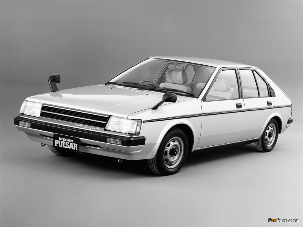 Nissan Pulsar 5-door (N12) 1982–86 wallpapers (1024 x 768)