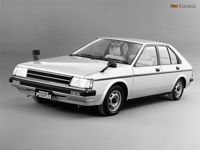 Nissan Pulsar 5-door (N12) 1982–86 wallpapers (800 x 600)