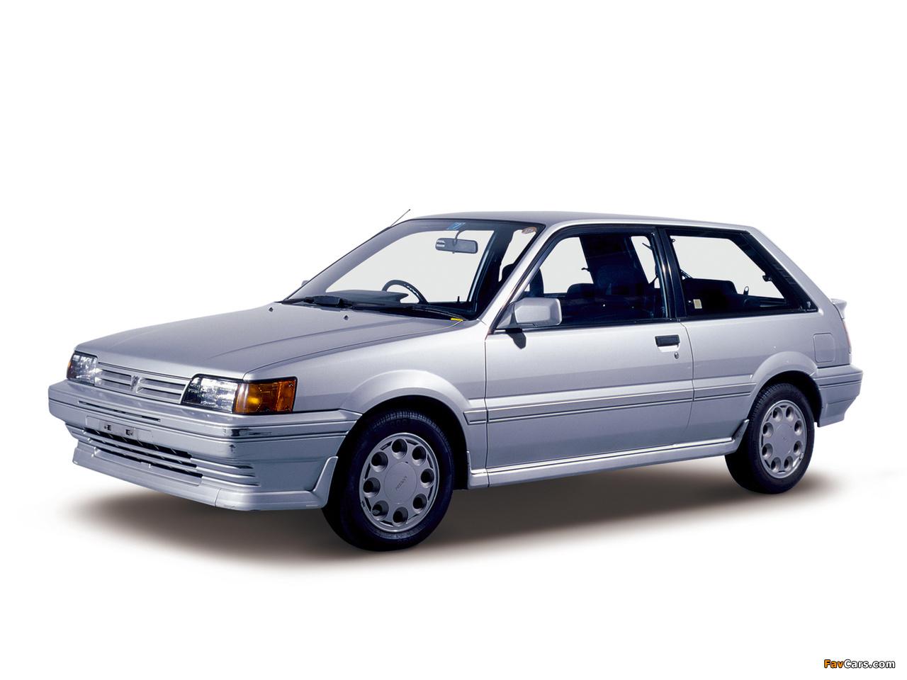 Nissan Pulsar 3-door (N13) 1986–90 photos (1280 x 960)