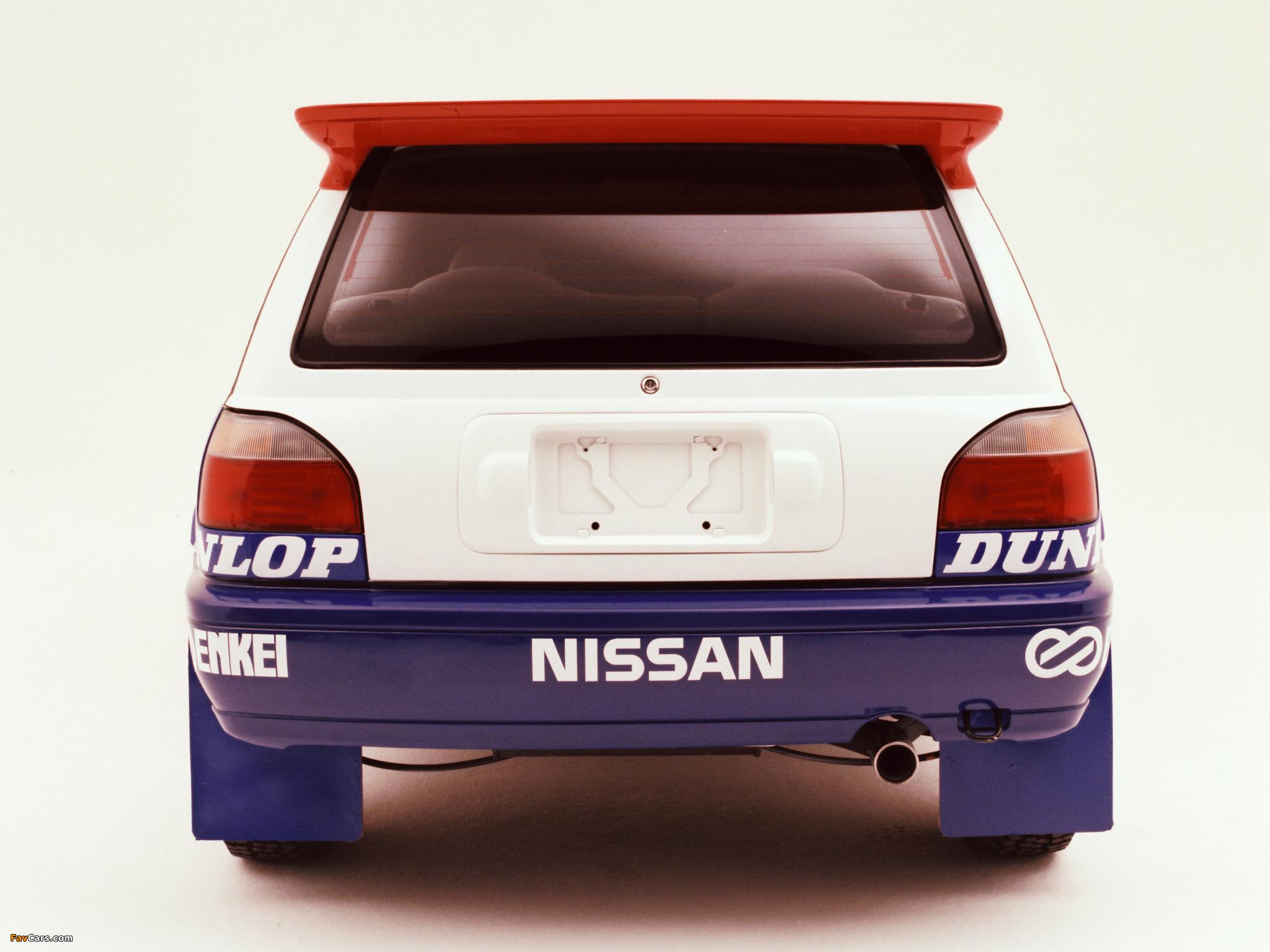 Nissan Pulsar GTI-Rb (RNN14) 1990–94 pictures (2048 x 1536)