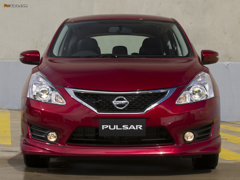 Nissan Pulsar SSS (NB17) 2013 photos (1024 x 768)