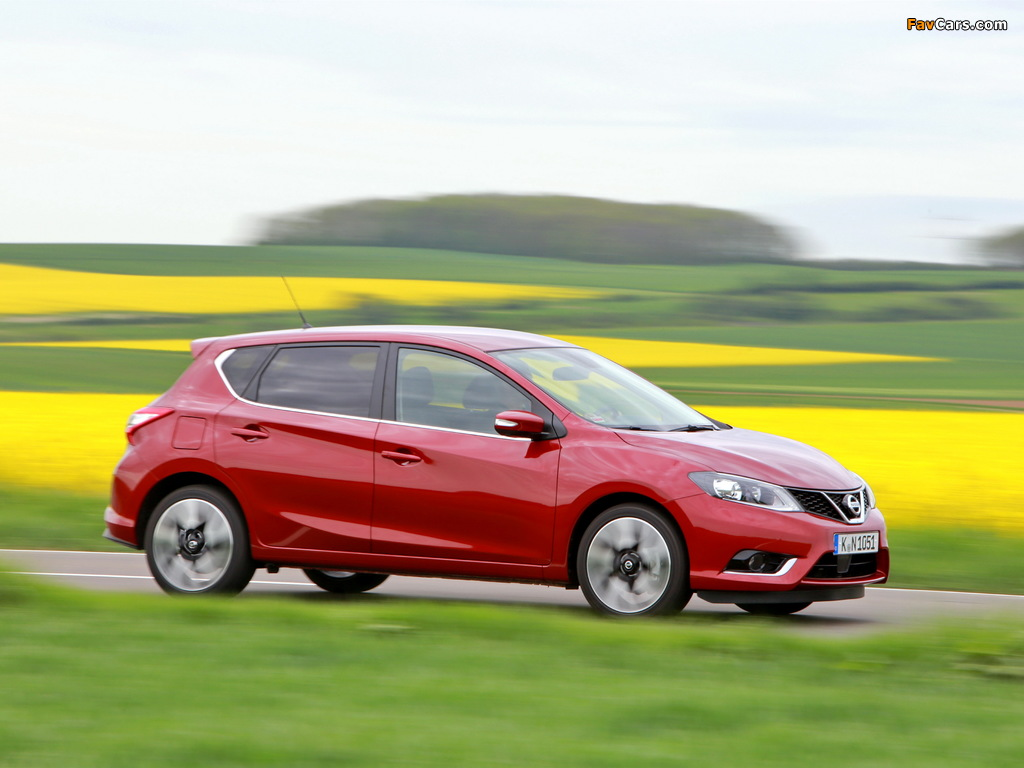 Nissan Pulsar 2014 images (1024 x 768)