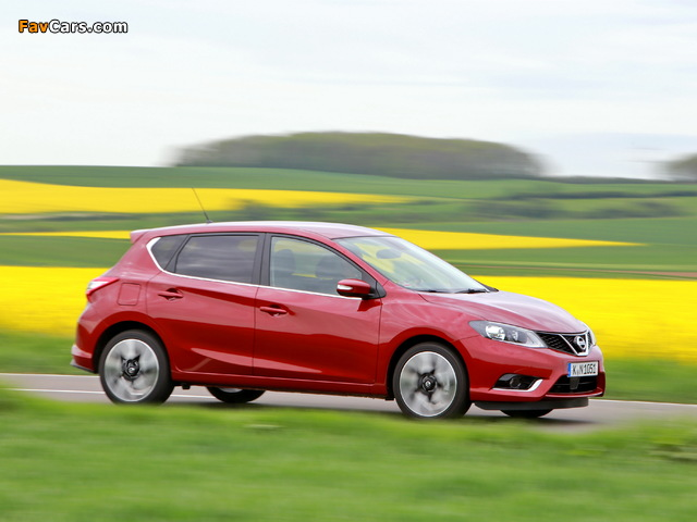 Nissan Pulsar 2014 images (640 x 480)