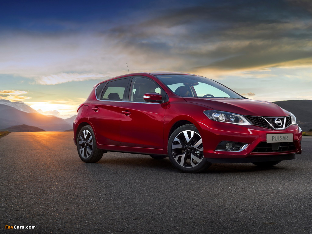 Nissan Pulsar 2014 photos (1024 x 768)