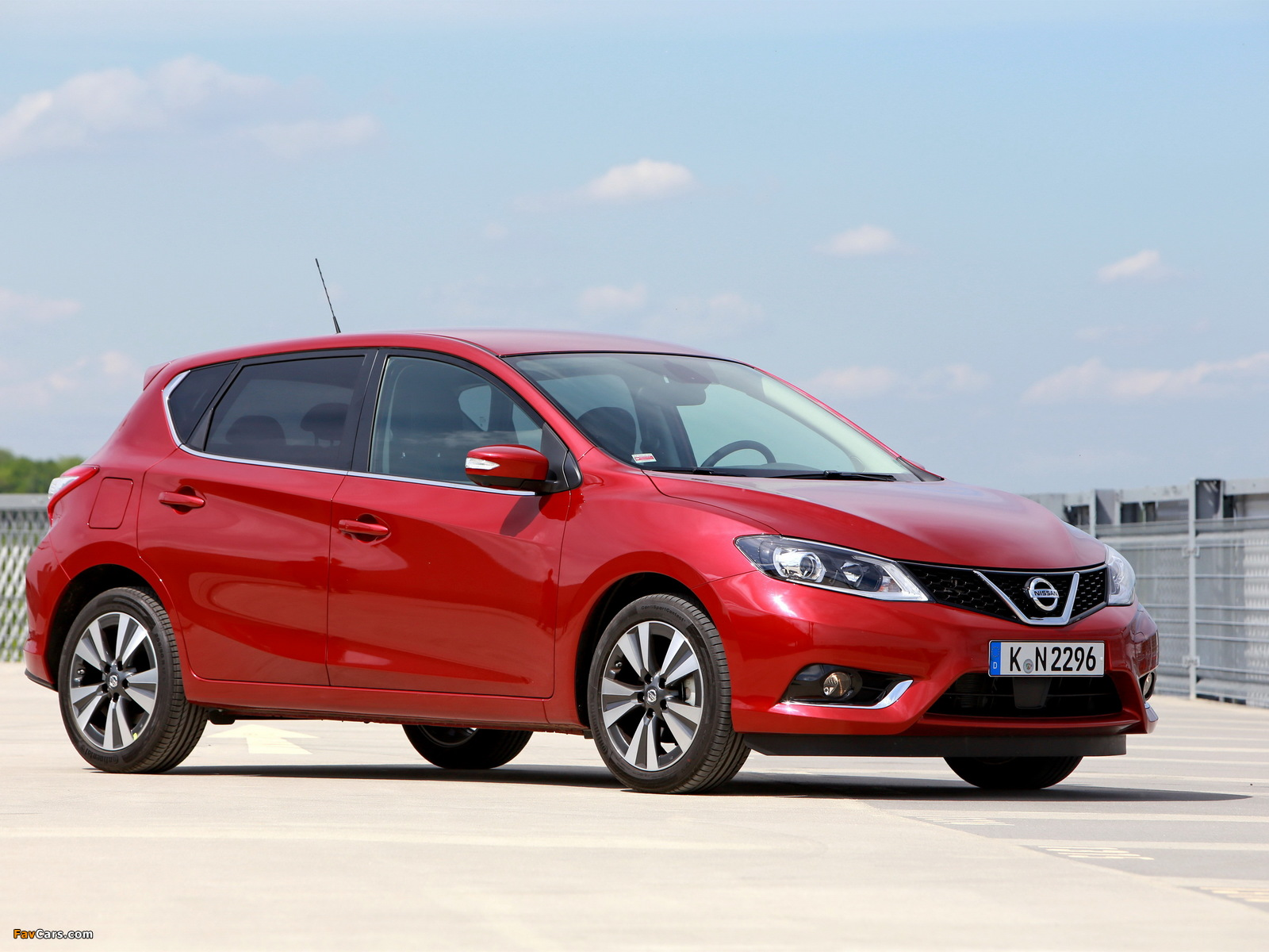 Nissan Pulsar 2014 photos (1600 x 1200)