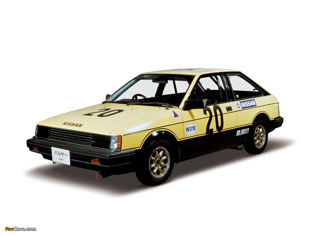 Photos of Nissan Pulsar 3-door Race Car (N12) 1982–86 (1024 x 768)