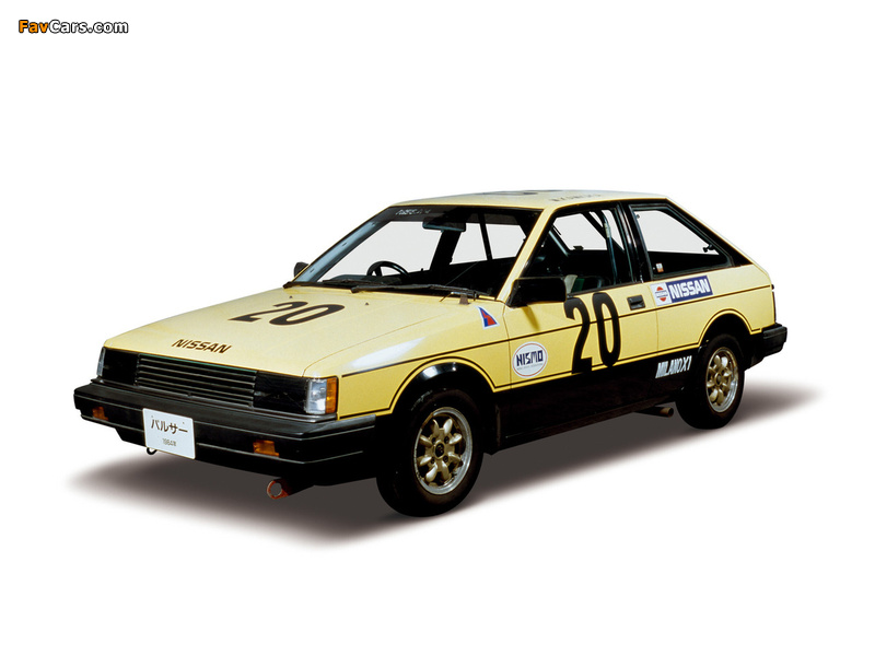 Photos of Nissan Pulsar 3-door Race Car (N12) 1982–86 (800 x 600)