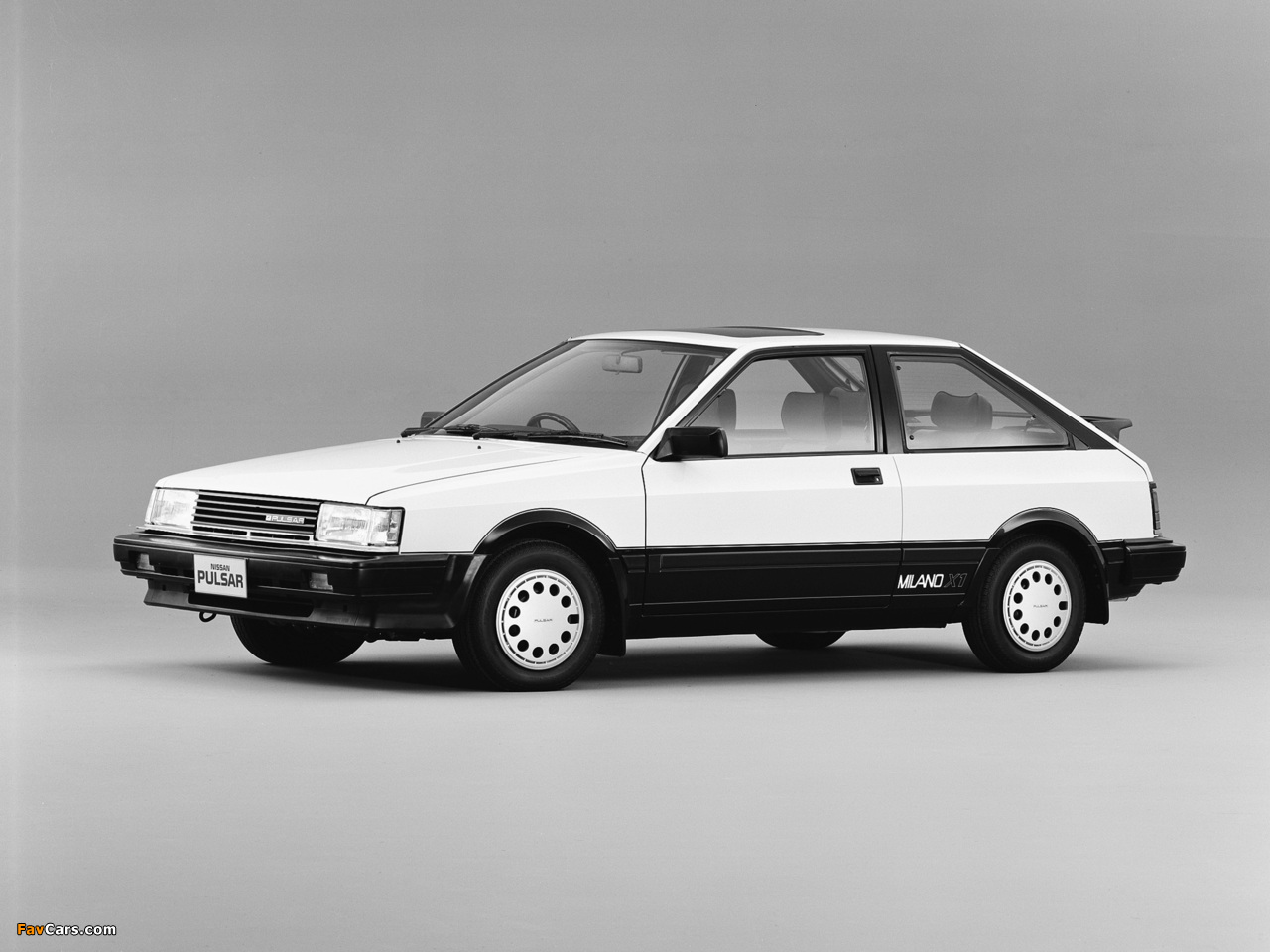 Photos of Nissan Pulsar Milano X1 (N12) 1984–86 (1280 x 960)