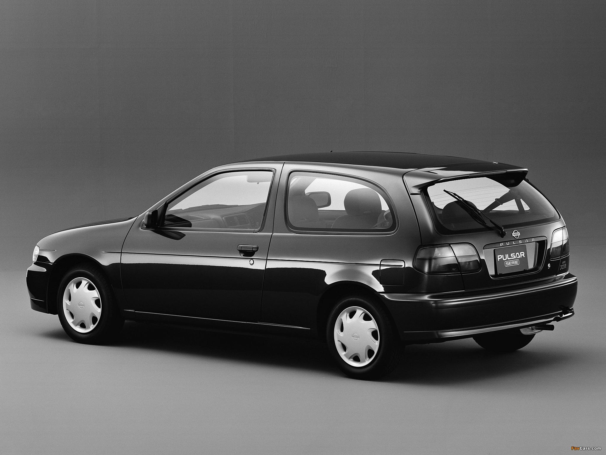 Photos of Nissan Pulsar Serie (N15) 1995–97 (2048 x 1536)