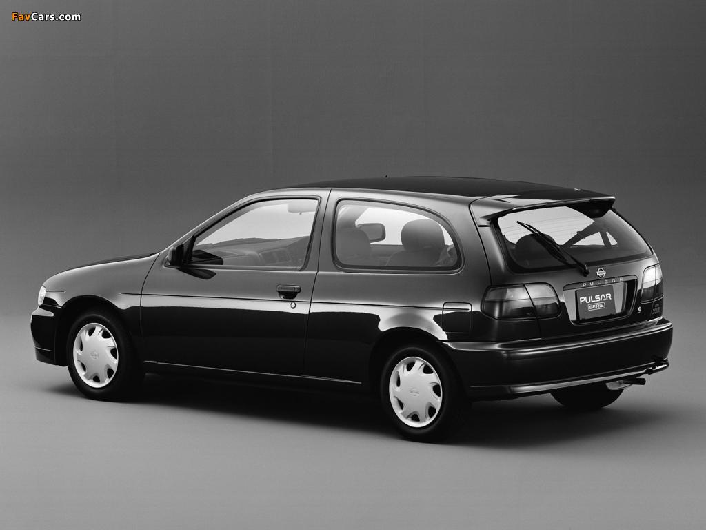 Photos of Nissan Pulsar Serie (N15) 1995–97 (1024 x 768)