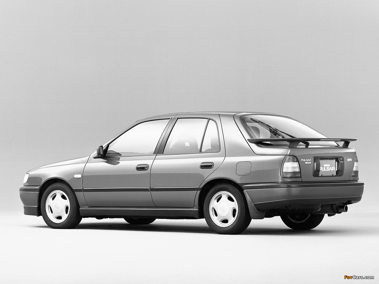 Pictures of Nissan Pulsar 5-door (N14) 1990–95 (1280 x 960)