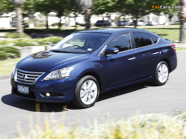 Pictures of Nissan Pulsar (NB17) 2013 (640 x 480)