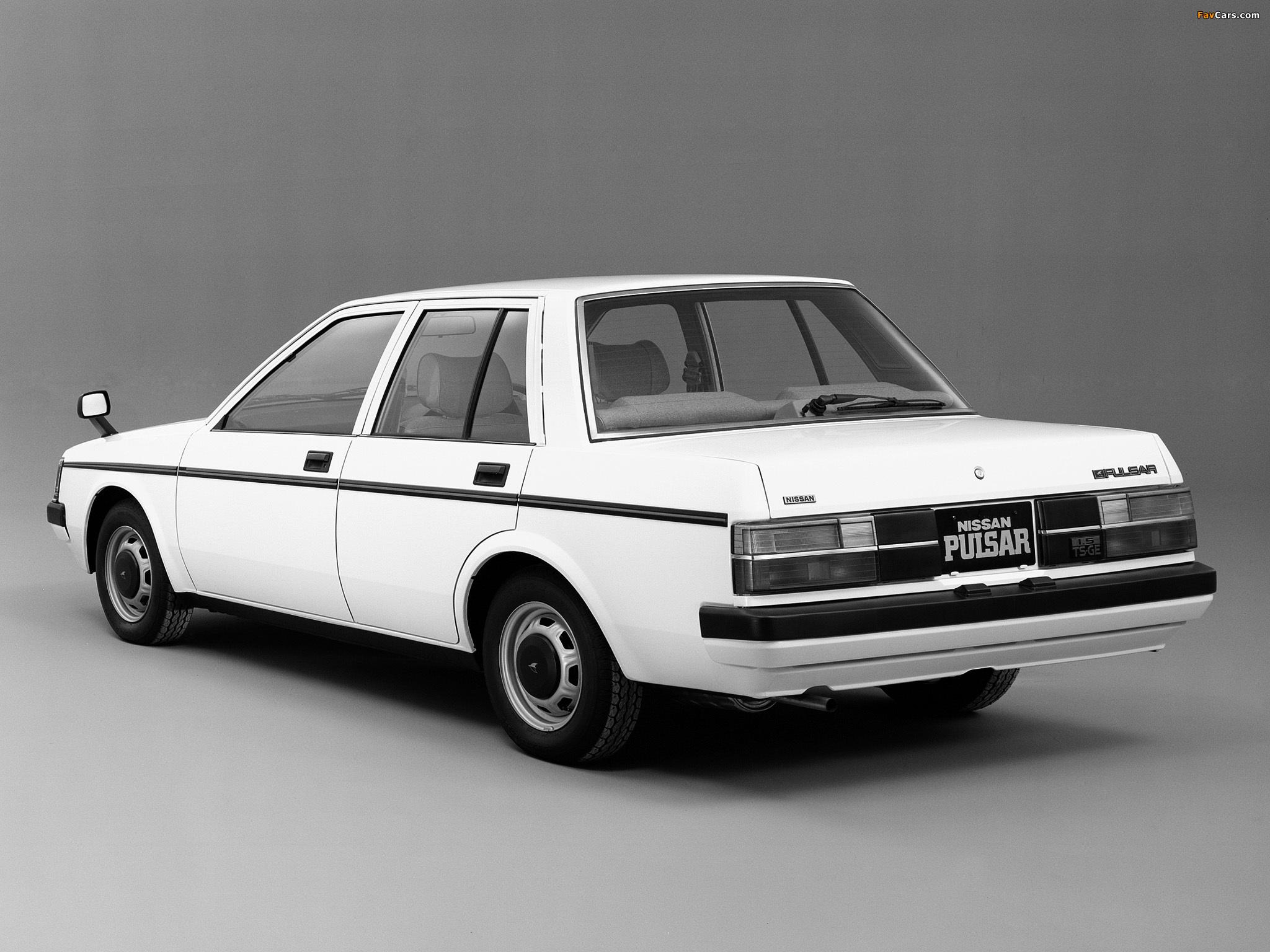 Nissan Pulsar Sedan (N12) 1982–86 wallpapers (2048 x 1536)