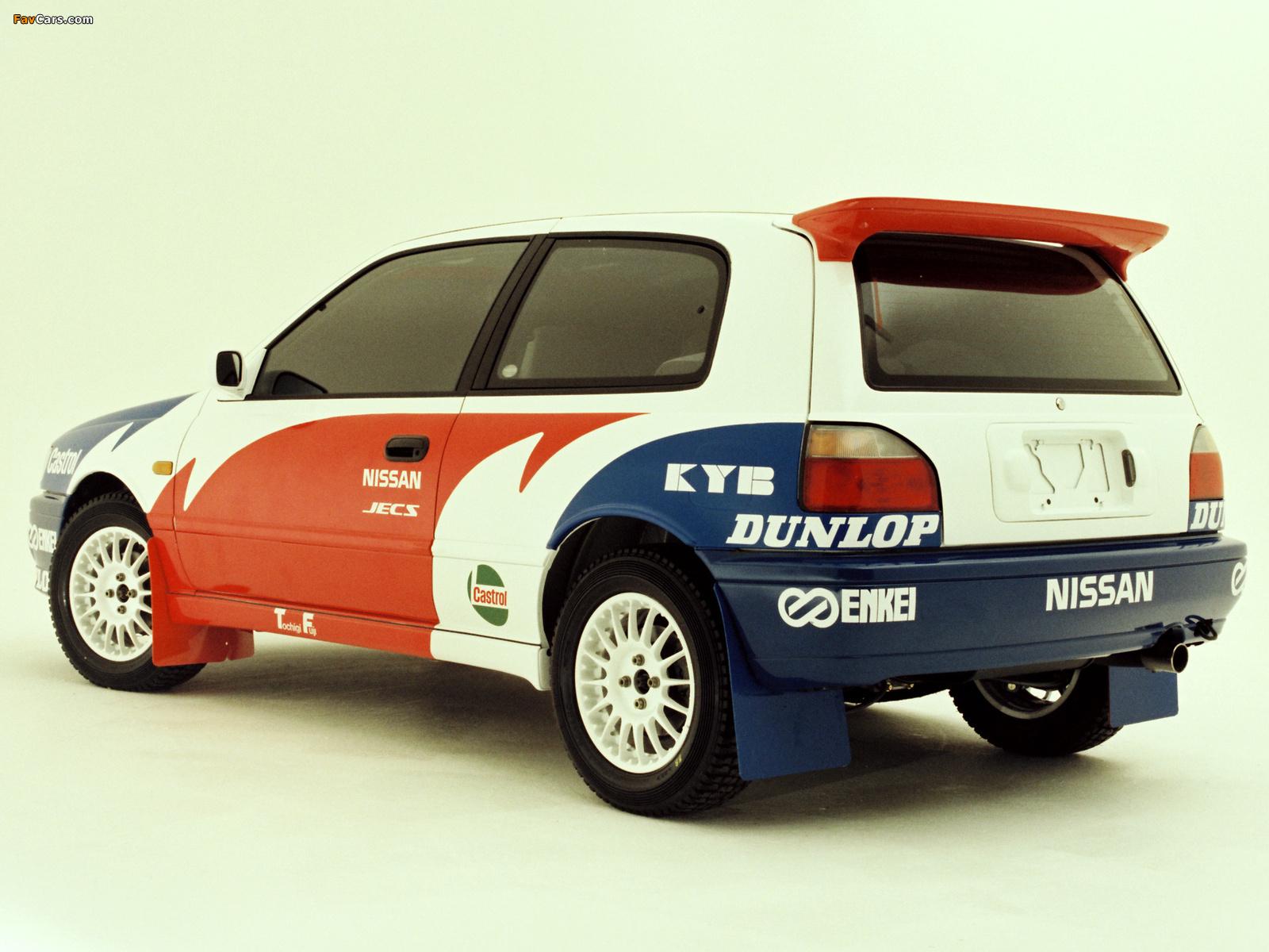 Nissan Pulsar GTI-Rb (RNN14) 1990–94 wallpapers (1600 x 1200)