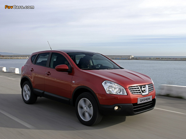 Images of Nissan Qashqai 4WD 2007–09 (640 x 480)