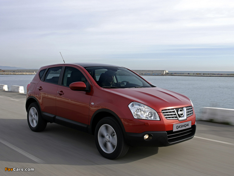 Images of Nissan Qashqai 4WD 2007–09 (800 x 600)