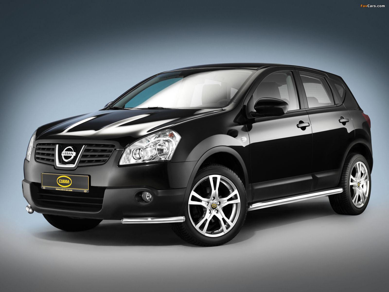 Images of Cobra Nissan Qashqai 2007–09 (1600 x 1200)