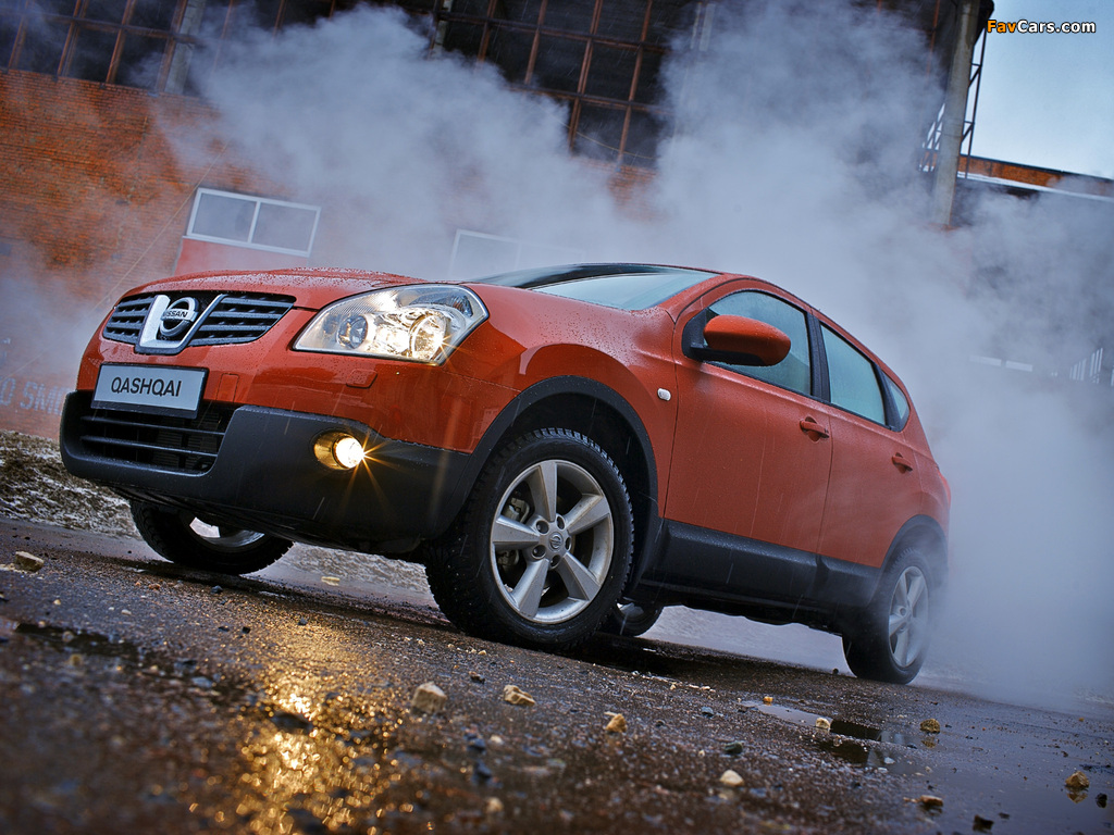 Images of Nissan Qashqai 4WD 2007–09 (1024 x 768)