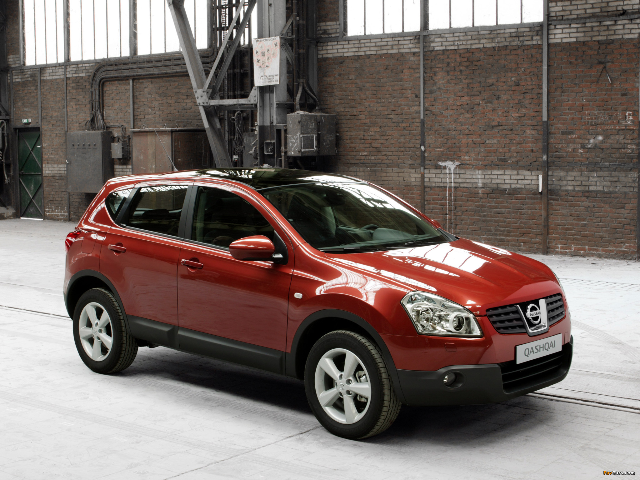 Images of Nissan Qashqai 4WD 2007–09 (2048 x 1536)