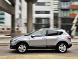 Images of Nissan Qashqai UK-spec 2009