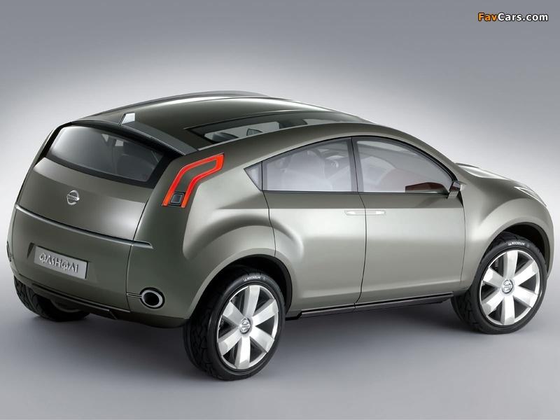 Nissan Qashqai Concept 2004 images (800 x 600)