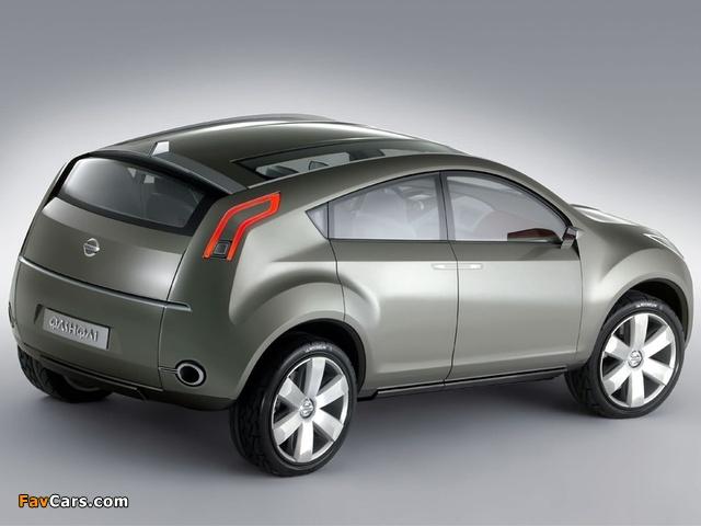 Nissan Qashqai Concept 2004 images (640 x 480)