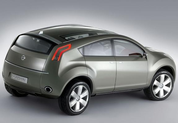 Nissan Qashqai Concept 2004 Images