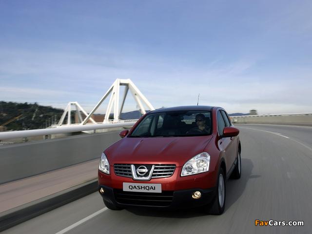 Nissan Qashqai 4WD 2007–09 images (640 x 480)