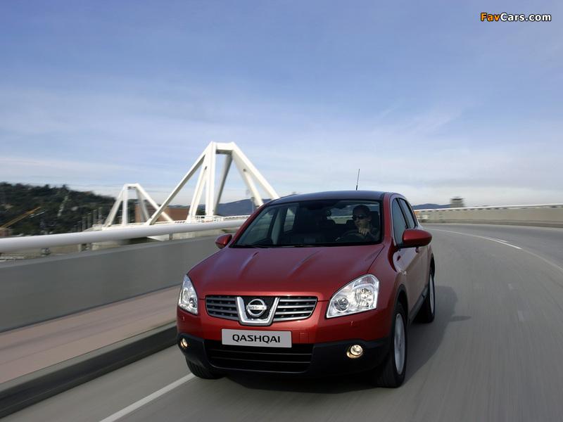 Nissan Qashqai 4WD 2007–09 images (800 x 600)