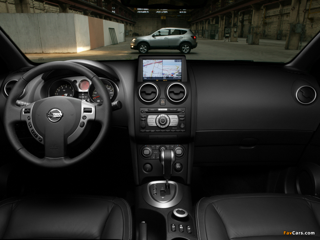 Nissan Qashqai 4WD 2007–09 images (1024 x 768)