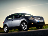 Nissan Qashqai UK-spec 2007–09 images